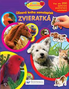 Obrázok Úžasná kniha samolepiek Zvieratká