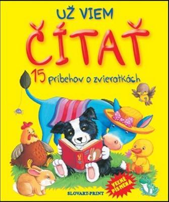 Obrázok Už viem čítať 15 príbehov o zvieratkách