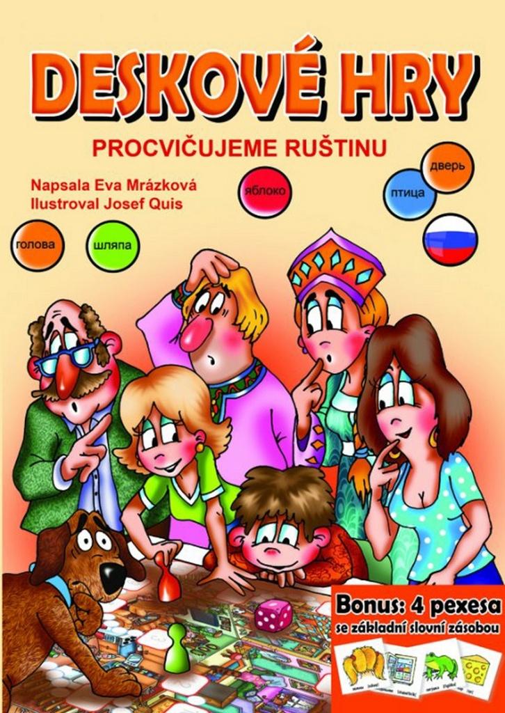 Deskové hry Procvičujeme ruštinu - Eva Mrázková
