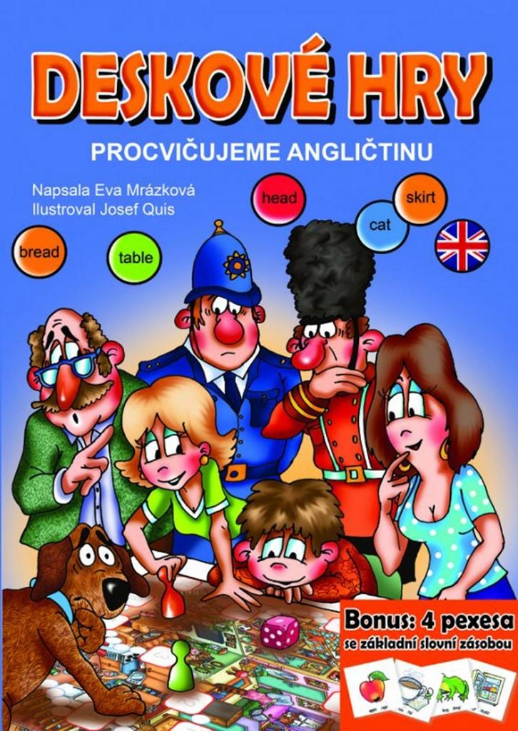 Deskové hry Procvičujeme angličtinu - Eva Mrázková