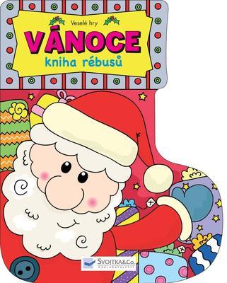 Obrázok Vánoce kniha rébusů