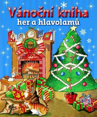 Obrázok Vánoční kniha her a hlavolamů