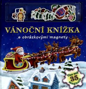 Obrázok Vánoční knížka s obrazovými magnety
