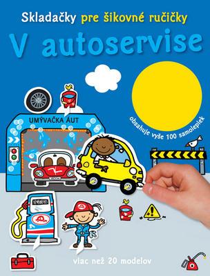 Obrázok V autoservise Skladačky pre šikovné ručičky