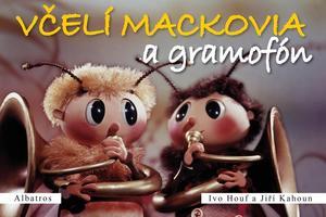 Obrázok Včelí mackovia a gramofón