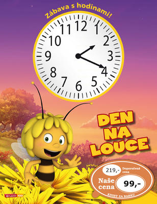 Obrázok Včelka Mája Den na louce Zábava s hodinami!