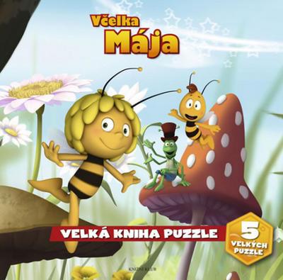 Obrázok Včelka Mája Velká kniha puzzle