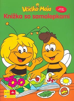 Obrázok Včielka Maja Knižka so samolepkami