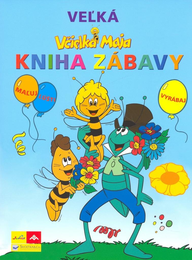 Včielka Maja Veľká kniha zábavy