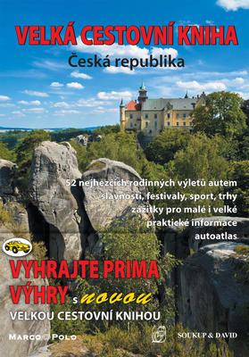 Obrázok Velká cestovní kniha Česká republika