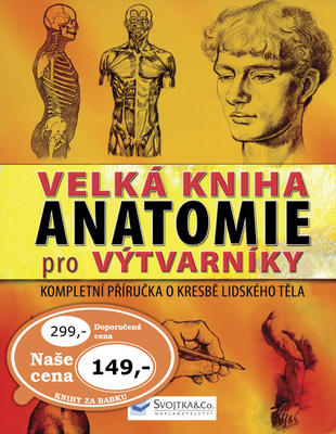 Obrázok Velká kniha anatomie pro výtvarníky