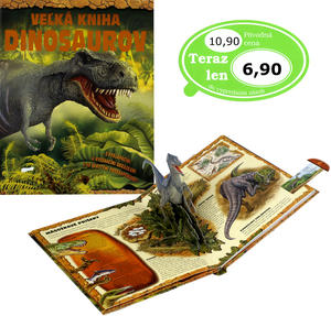 Obrázok Veľká kniha dinosaurov