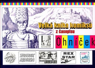 Obrázok Velká kniha komiksů  z časopisu Ohníček