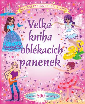 Obrázok Velká kniha oblékacích panenek