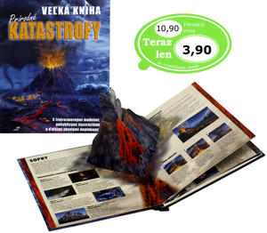 Obrázok Veľká kniha prírodné katastrofy