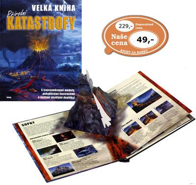 Obrázok Velká kniha přírodní katastrofy