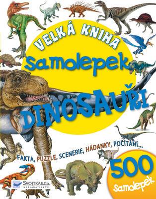 Obrázok Velká kniha samolepek Dinosauři