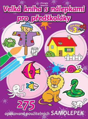 Obrázok Velká kniha s nálepkami pro předškoláky