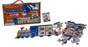 Obrázok Velké puzzle vláček ABC