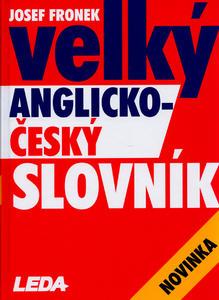 Obrázok Velký anglicko-český slovník