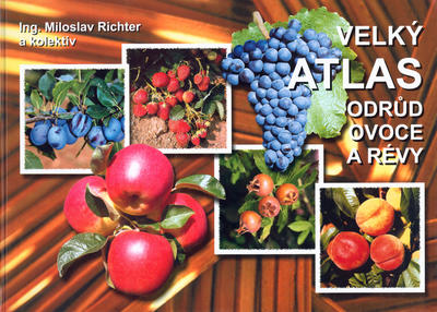 Obrázok Velký atlas odrůd ovoce a révy