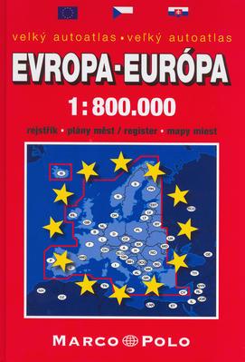 Obrázok Velký autoatlas Evropa-Európa 1:800 000