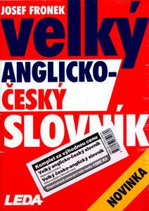 Obrázok Velký česko-anglický a anglicko-český slovník