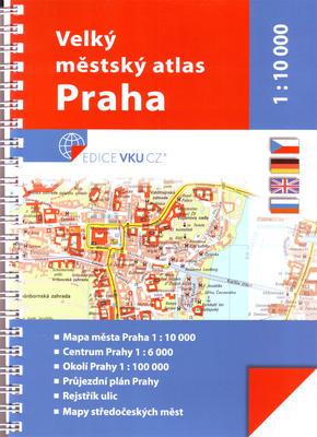 Obrázok Velký městský atlas Praha 1:10 000
