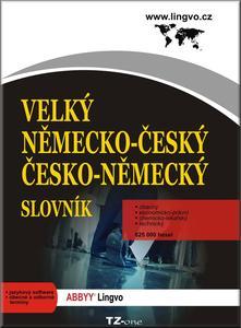 Obrázok Velký německo-český, česko-německý slovník