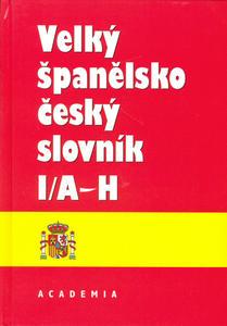 Obrázok Velký španělsko český slovník I/A-H