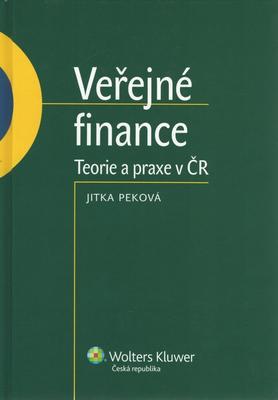 Obrázok Veřejné finance Teorie a praxe v ČR