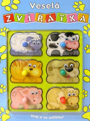 Obrázok Veselá zvířátka Hraj si se zvířátky!