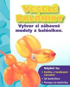 Obrázok Veselé balóniky + 20 balónikov + pumpa na balóniky