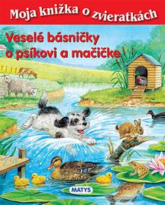 Obrázok Veselé básničky o psíkovi a mačičke