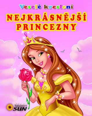 Obrázok Veselé kreslení Nejkrásnější princezny - omalovánka