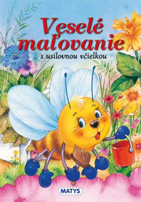 Obrázok Veselé maľovanie s usilovnou včielkou