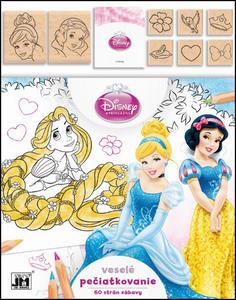 Obrázok Veselé pečiatkovanie Disney Princezná