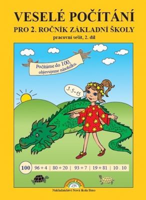 Veselé počítání pro 2. ročník základní školy pracovní sečit, 2. díl