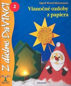 Obrázok Vianočné ozdoby z papiera 2