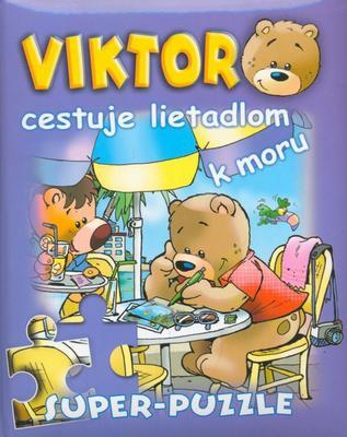 Obrázok Viktor cestuje lietadlom k moru