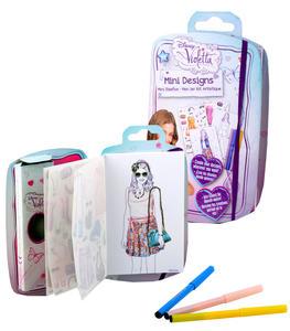 Obrázok Violetta Deníček 22,5x17cm se zápisníkem, fixami a samolepkami v sáčku