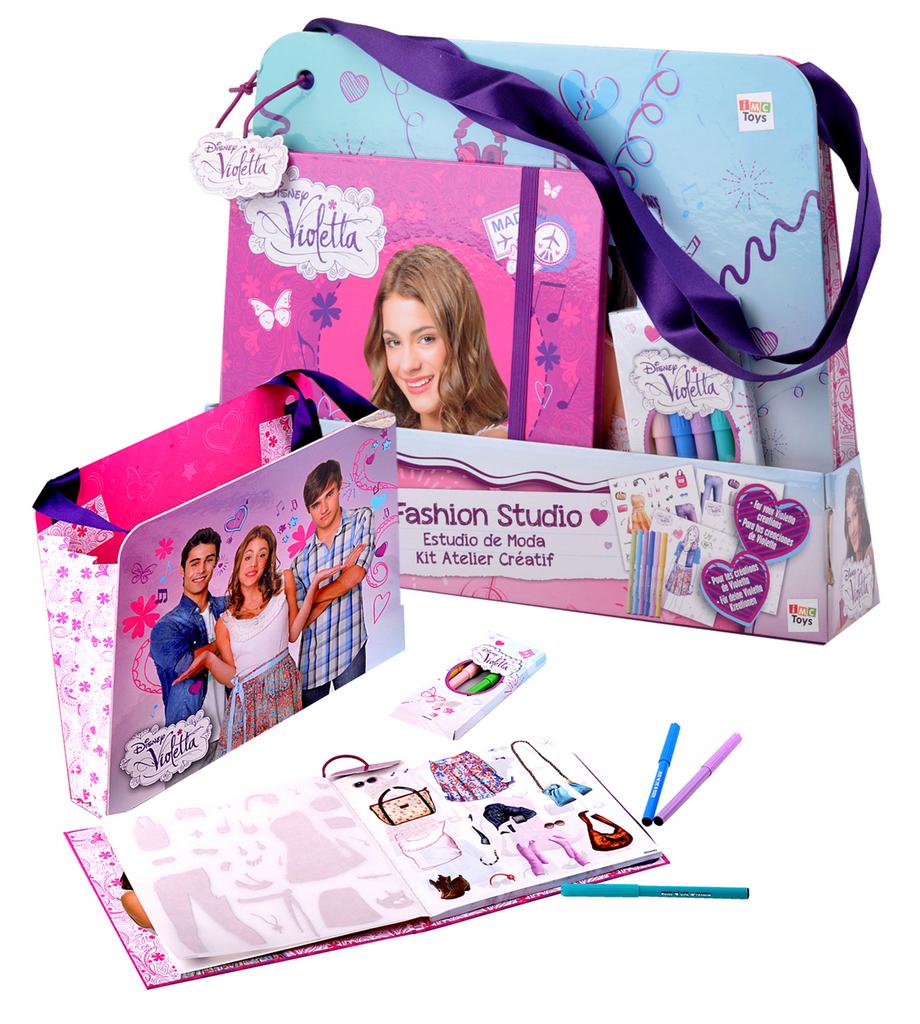 Violetta Tvořivá sada taška 35x26cm s doplňky