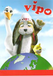 Obrázok Vipo - omalovánka