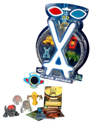 Obrázok Virus Attack blistr 4-pack