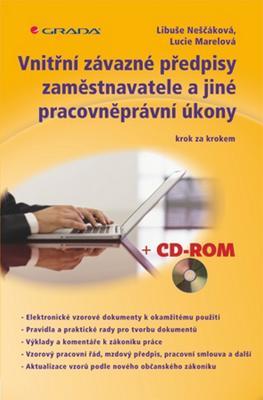 Obrázok Vnitřní závazné předpisy zaměstnavatele a jiné pracovněprávní úkony