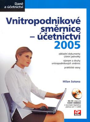 Obrázok Vnitropodnikové směrnice - účetnictví 2005 + CD