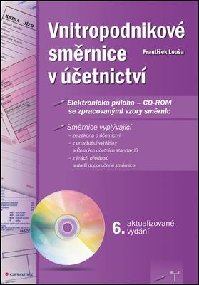 Obrázok Vnitropodnikové směrnice v účetnictvi s CD