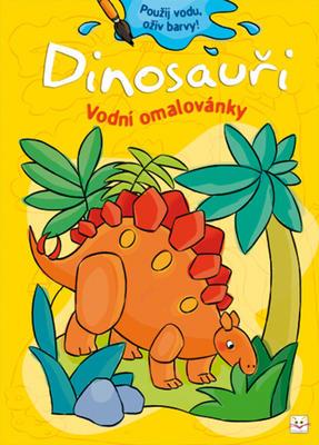 Obrázok Dinosauři Vodní omalovánky