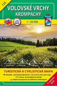 Obrázok Volovské vrchy Krompachy 1 : 50 000