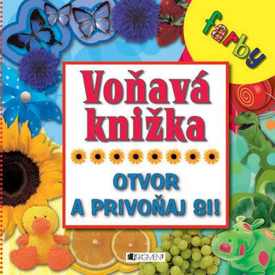 Obrázok Voňavá knižka Farby